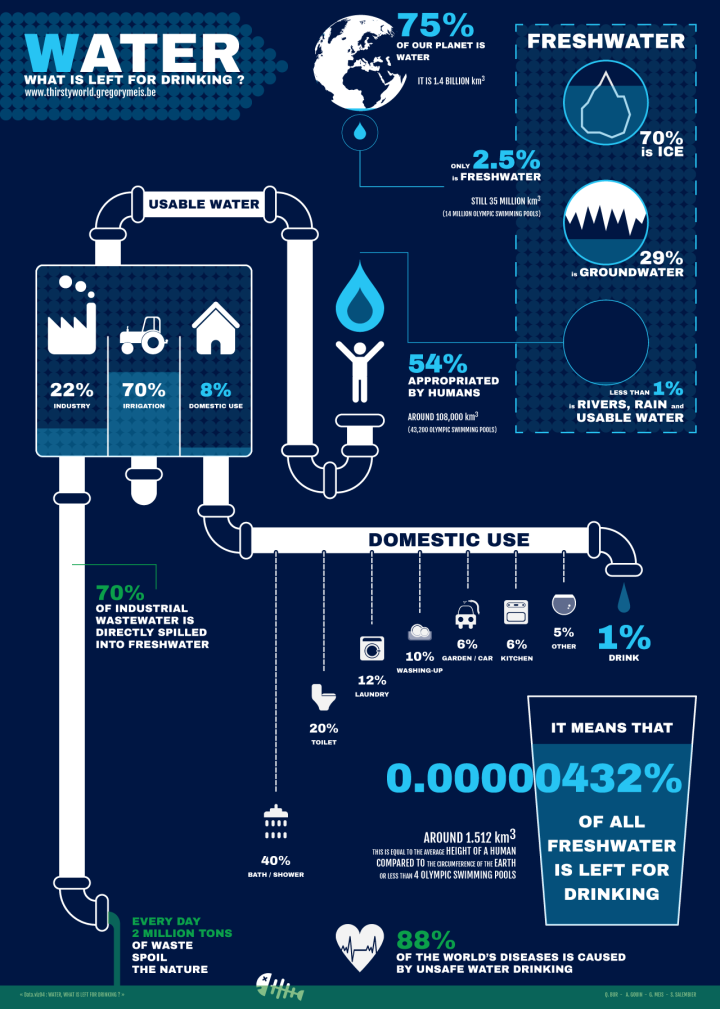 Water: What Is Left For Drinking