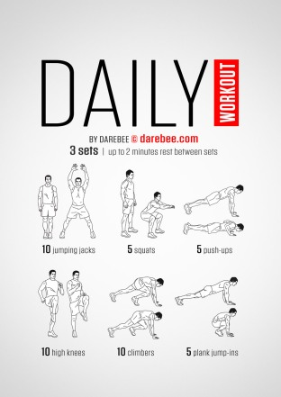 A Daily Workout